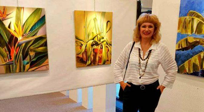 Президент Культурного центру України в Бельгії Світлана Лебіга в складі жюрі Jaarlijks Internationaal Salon der Gezellen 2017 (De Panne. Belgium)